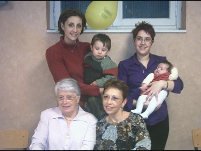 Ma tante et une partie de sa famille...