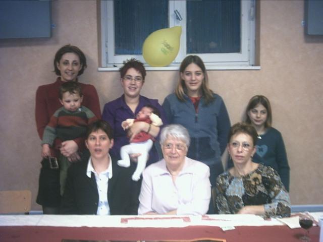 Ma tante et sa famille au complet...